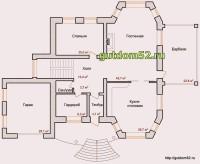 План первого этажа Ладо3