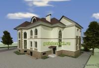 Проект дома из газосиликатных блоков Ладо3 эскиз 5