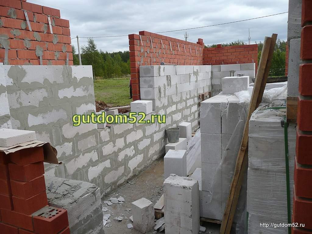 Газосиликатные блоки строительство дома своими руками видео
