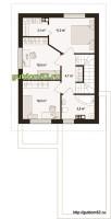 План планировка второго этажа дома