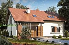 Проект дома Б19 площадью 191 м2, 225