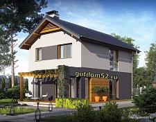 Проект дома Б23 площадью 94 м2, 225
