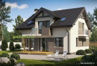 Проект дома из блоков Б16 площадью 131 м2, 1