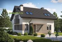 Проект дома из блоков Б16 площадью 131 м2, 2