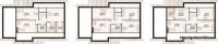 Возможные варианты планировок 2 этажа