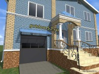 Проект входной группы дома в Нижнем Новгороде и области
