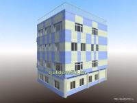 Проект административного здания, эскиз 3