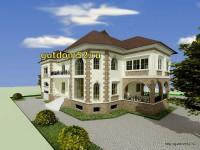 проекты домов, эскиз 4