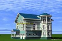 проекты домов, эскиз 5