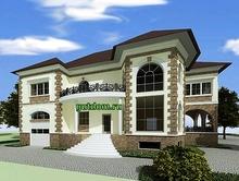 Проект двухэтажного дома 355 м2 Влад2, 220