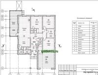 Проект одноэтажного дома 182 м2