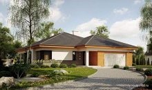 Проект одноэтажного дома 189 м2