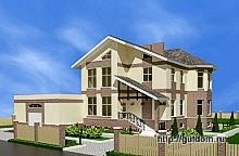 двухэтажный дом, 220