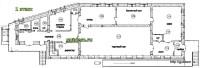 проект магазина, план 1-го этажа 1
