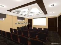 интерьер конференц-зал, проект Ладо22, эскиз 5