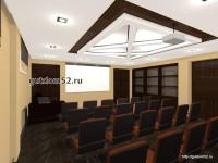 интерьер конференц-зал, проект Ладо22, эскиз 6
