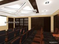 интерьер конференц-зал, проект Ладо22, эскиз 8