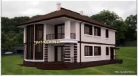 проект дома, визуализация 3