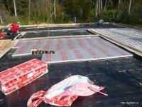 гидроизоляция стеклоизолом под утеплитель - фото 6