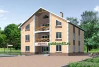 трехэтажная гостиница