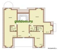 планировка дома, 3 этаж