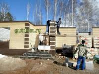 строительство дома фото 2