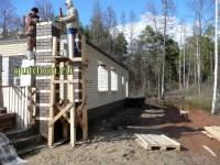 строительство дома фото 6