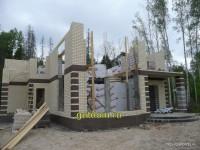 строительство дома фото 10