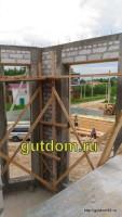 строительство дома фото 15