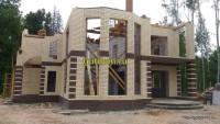 строительство дома фото 16