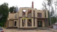 строительство дома фото 17